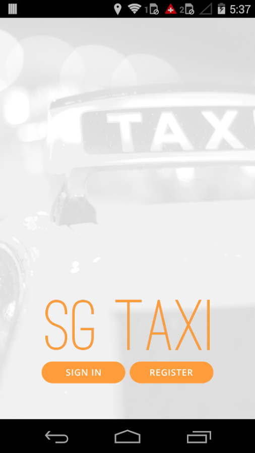 SG Taxi Now- screenshot