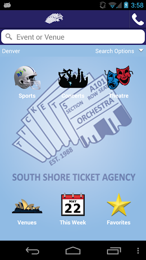 South Shore Ticket