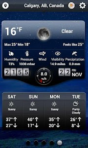 Weather HD - World Weather App screenshot 1