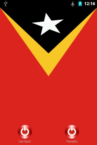 Lantern flash Timor-Leste
