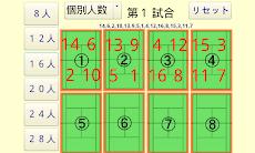 旧)吉田組・テニス対戦組み合わせ生成アプリのおすすめ画像1