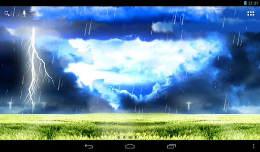 【免費個人化App】風暴動態桌布-APP點子