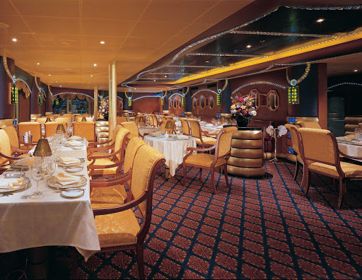 Carnival-Liberty-Harrys-Supper-Club - Reserve a table at Harry's Supper Club, the popular steakhouse on Carnival Liberty.