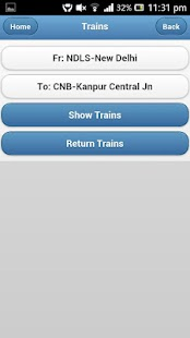 eRail.in Indian Rail / Train - screenshot thumbnail