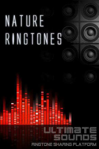 Nature Sounds Ringtones - screenshot