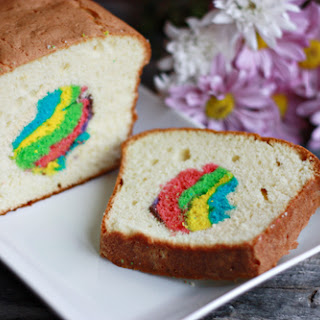 Easter Egg Hunt Pound Cake.