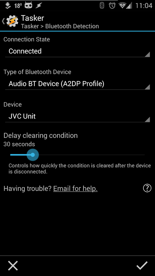 Bluetooth Detection - screenshot