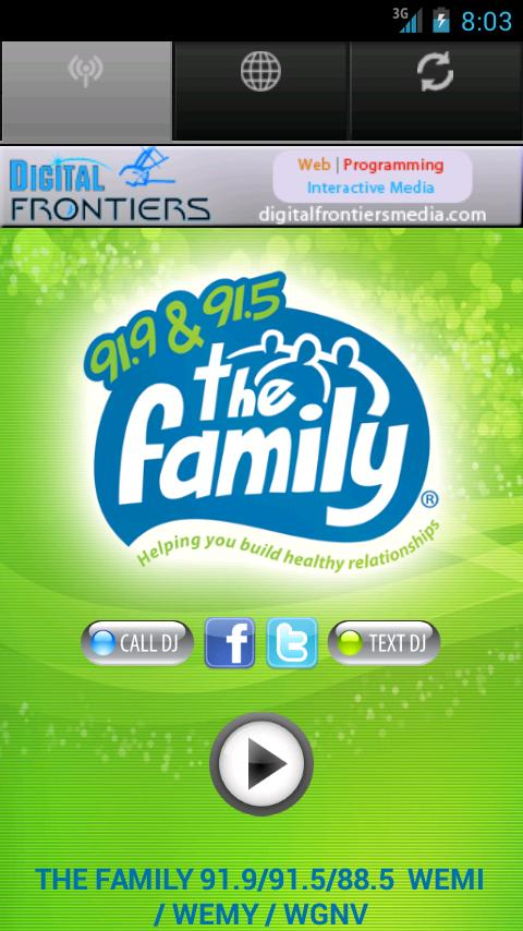 The Family Radio - screenshot