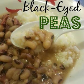 Black-Eyed Peas.
