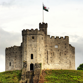 Cardiff Castle Keep by Peter Keast - Buildings & Architecture Public & Historical ( wales, castle, cardiff, keep,  )