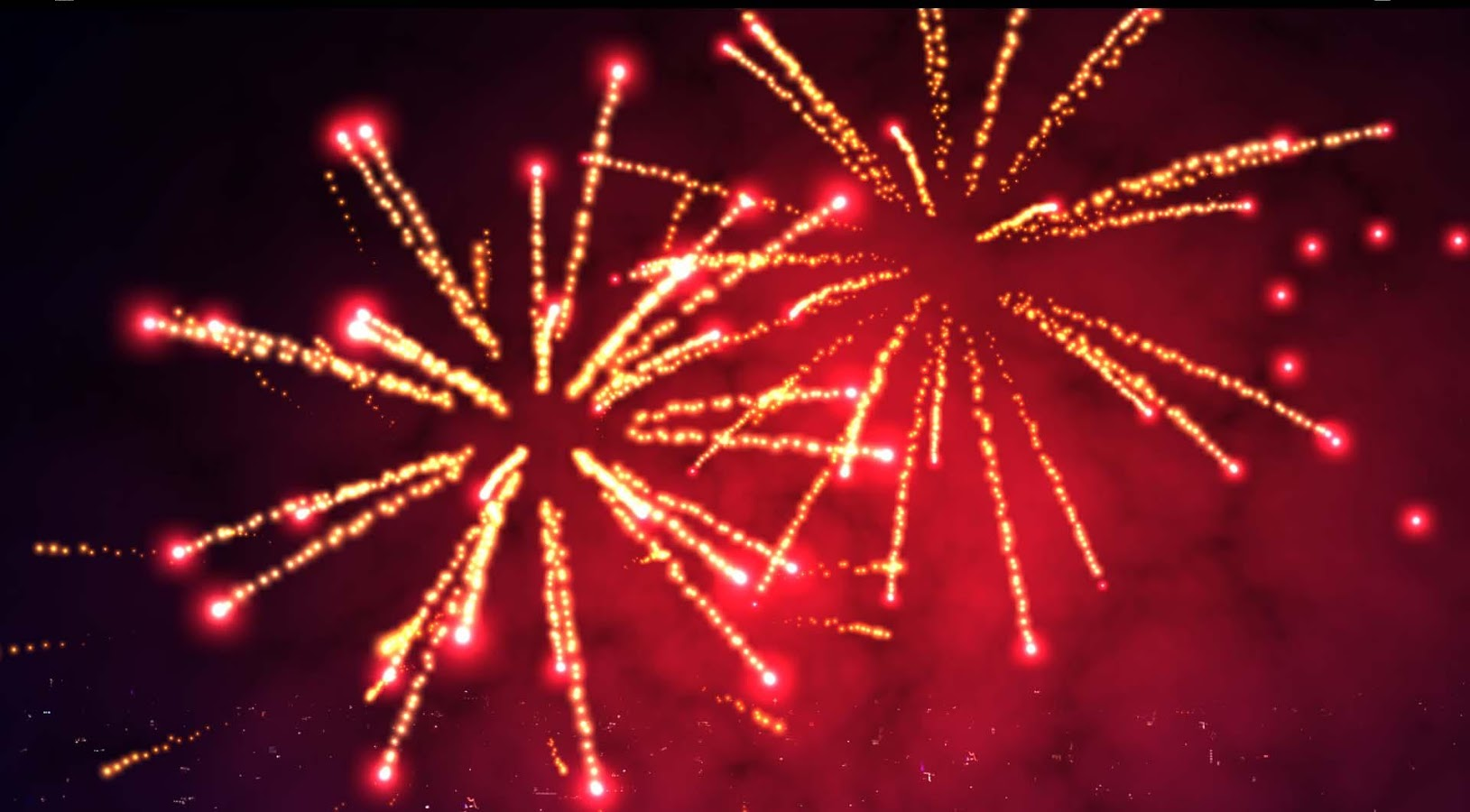 3D Fireworks Live Wallpaper- screenshot