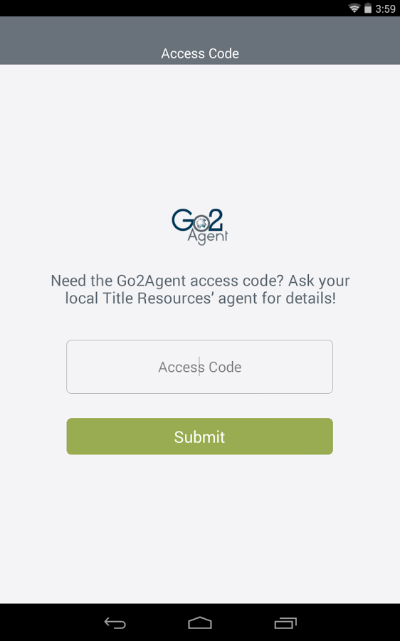 Go2Agent- screenshot