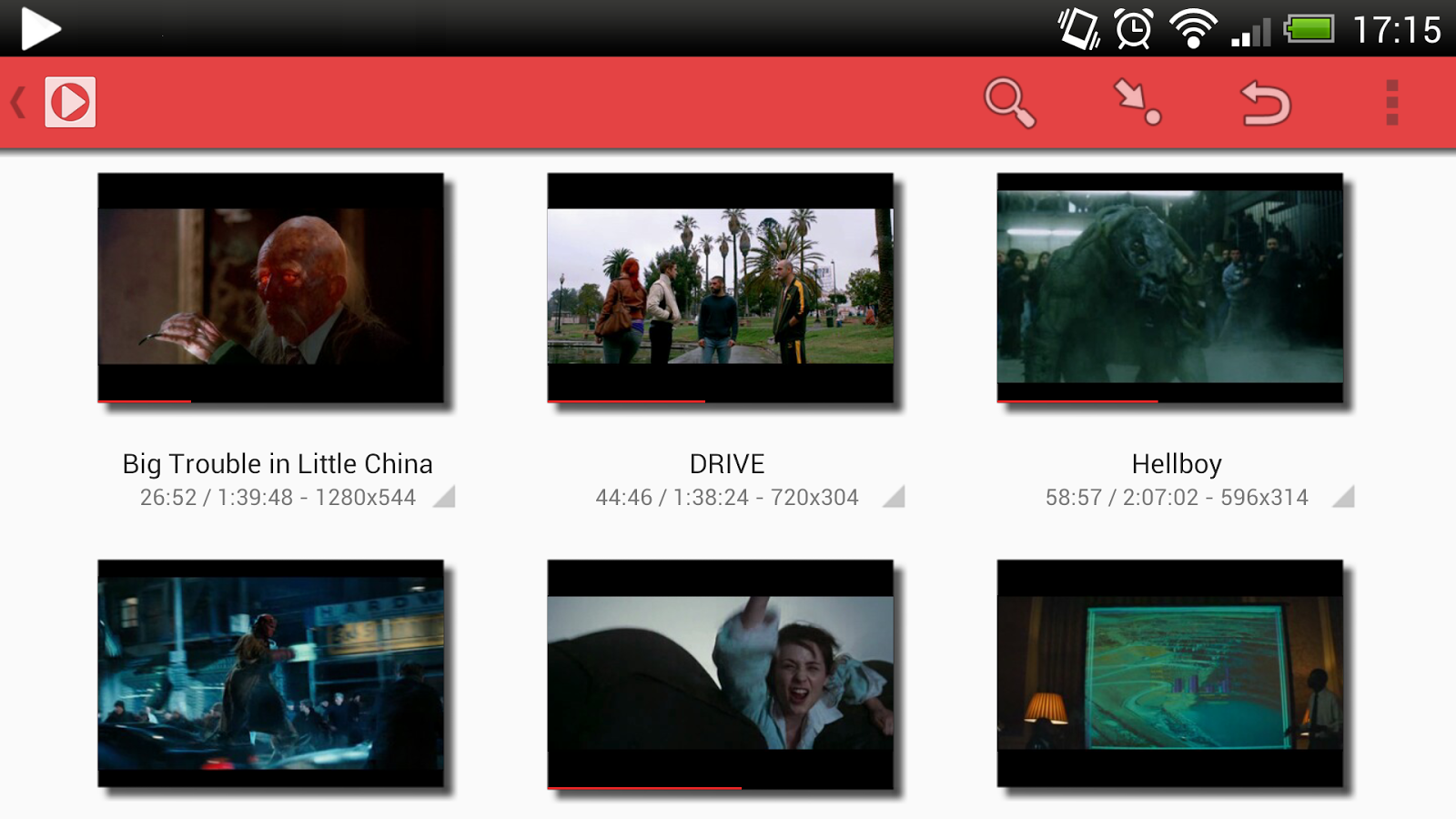 Pixi Media Player - screenshot