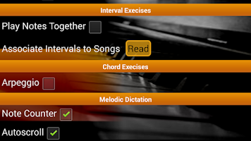 Screenshot of Piano Ear Training Free