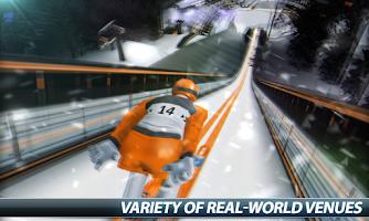 Screenshot of Super Ski Jump - Winter Rush
