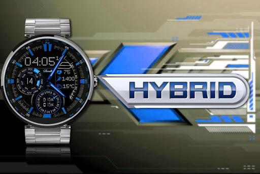 Hybrid Blue 2015 Wear Face HD