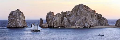 Cabo-San-Lucas-Mexico-panorama - Beautiful Cabo San Lucas, Mexico, is known for its beaches, scuba diving and marine life.
