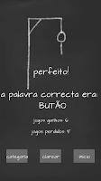 Screenshot of Jogo da forca (Brasileiro)