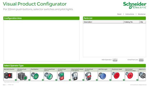 22mm Visual Configurator