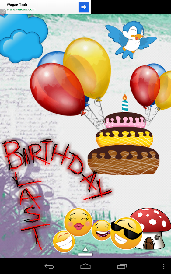 Greeting Cards Pro- Birthday - screenshot