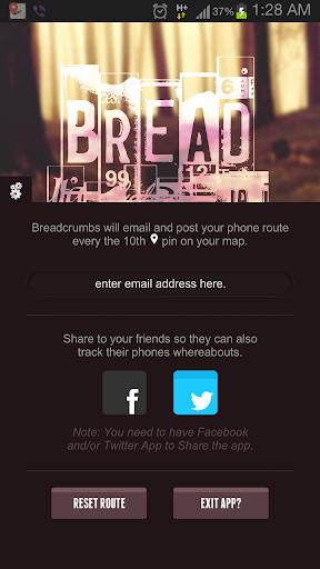 【免費工具App】Breadcrumbs-APP點子