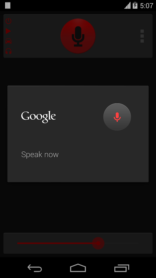 Voice Text - screenshot