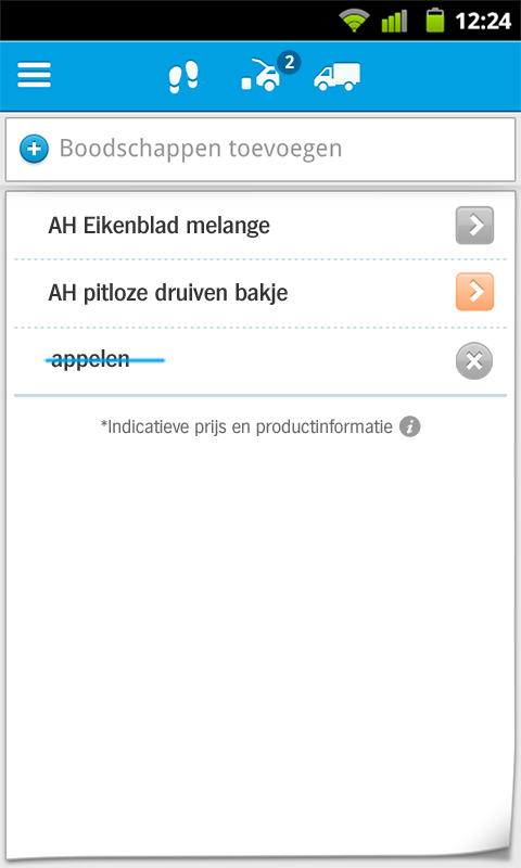 Appie van Albert Heijn - screenshot