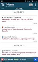Screenshot of Tech Junkie - Technology News