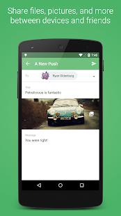 Pushbullet - screenshot thumbnail