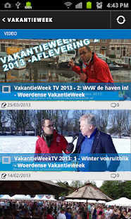 VakantieWeek - screenshot thumbnail