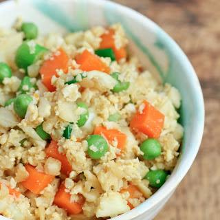 "Chicken and Cauliflower ""Fried Rice"""