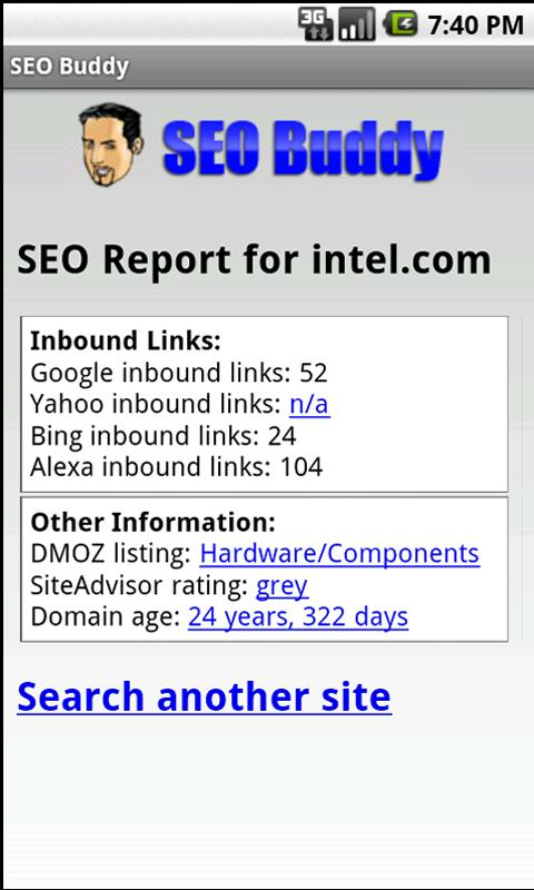 SEO Buddy- screenshot