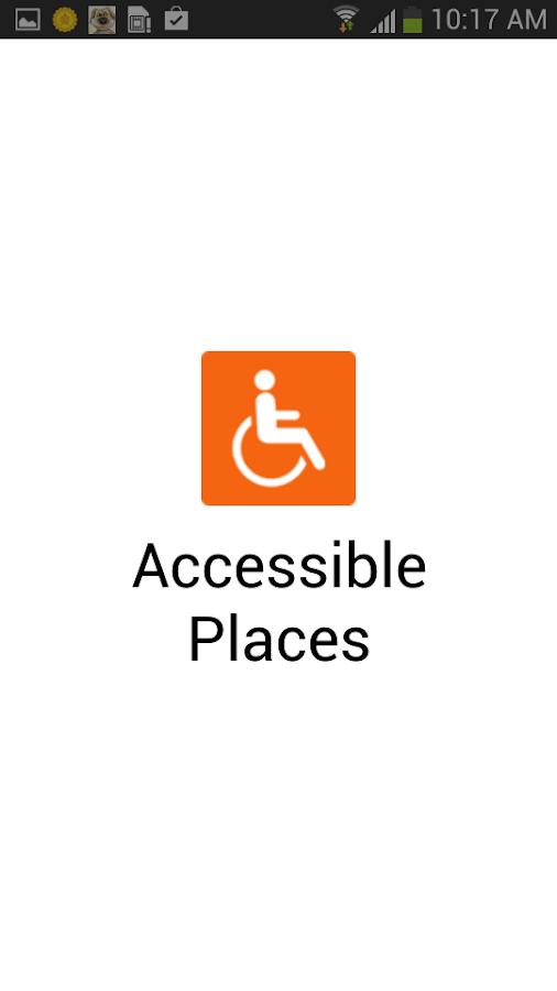 Accessible Places- screenshot