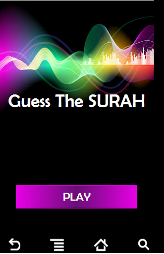 Guess the Surah