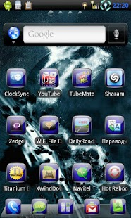 Go Launcher EX Theme 3D Space - screenshot thumbnail