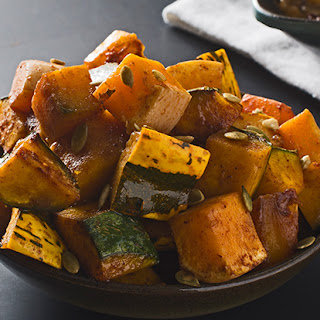 Maple and Spice-Roasted Winter Squash