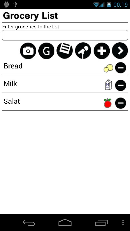 Grocery List Pro - screenshot