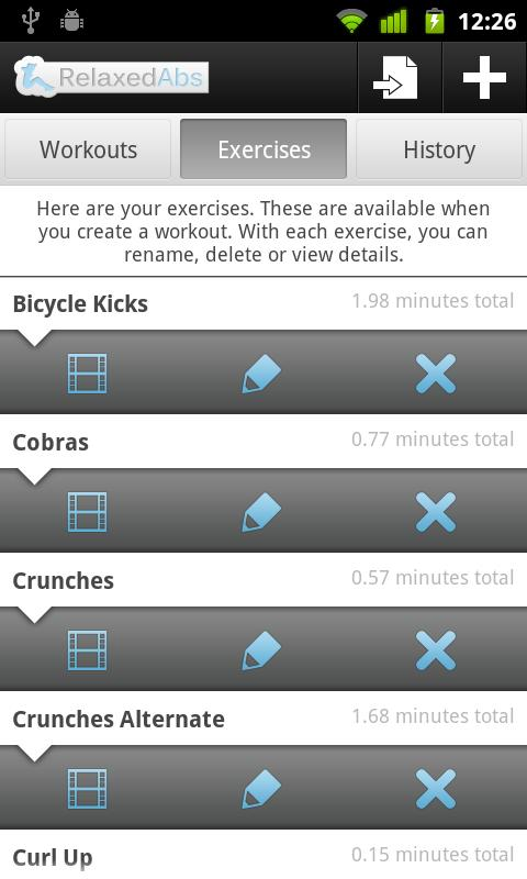 Relaxed Abs - Ab Workout Timer- screenshot