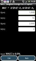 Screenshot of CF Calc