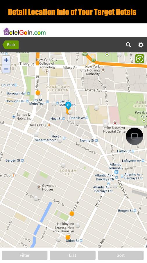 HotelGoIn - Your Hotel Expert - screenshot