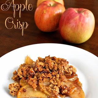 Peanut Butter Apple Crisp