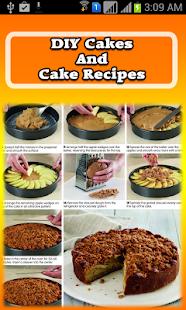 DIY Cakes And Cake Recipes