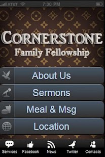 Cornerstone Mobile - screenshot thumbnail