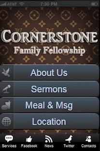 Cornerstone Mobile- screenshot thumbnail