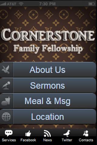Cornerstone Mobile- screenshot