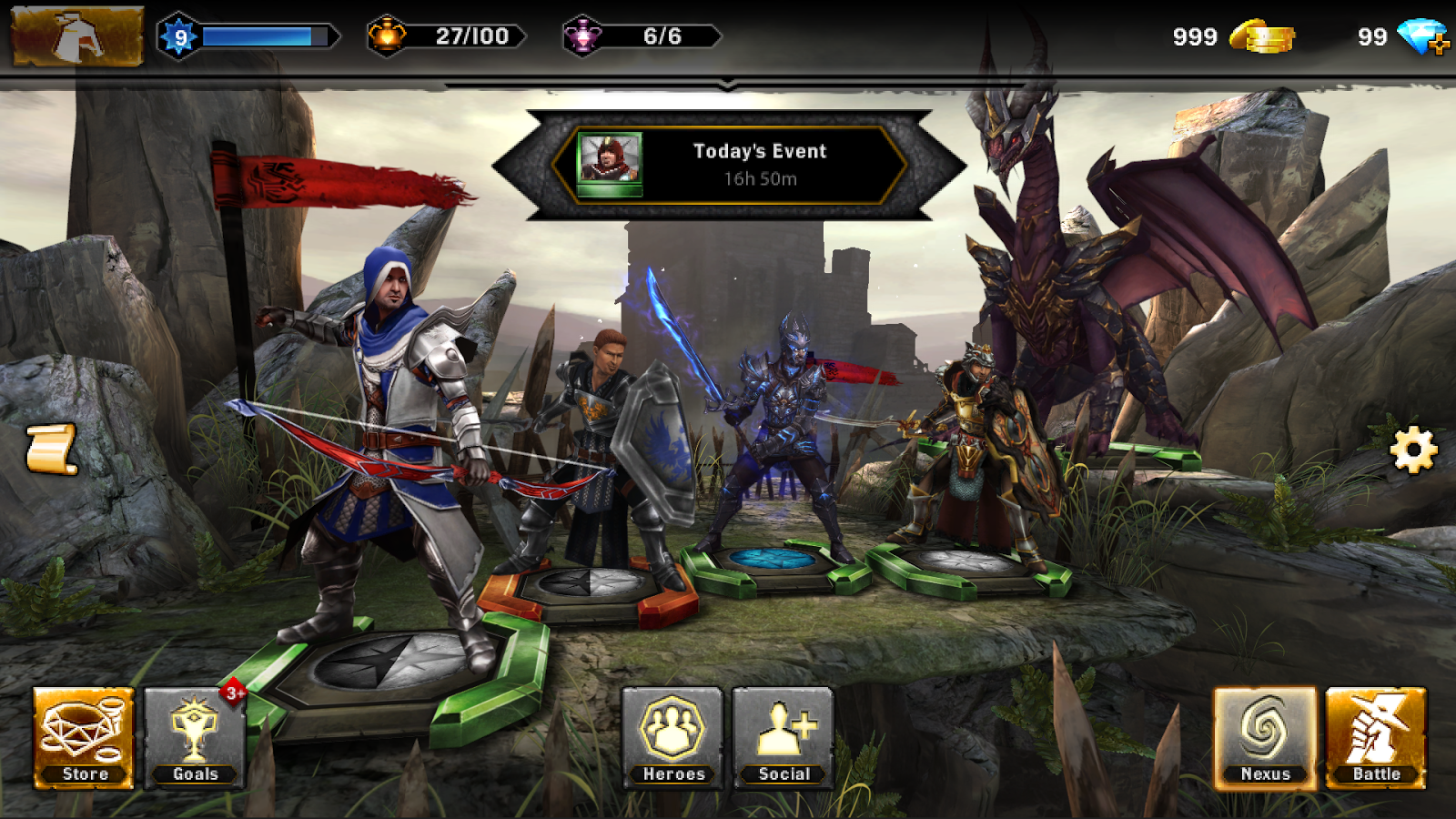 Heroes of Dragon Age- screenshot