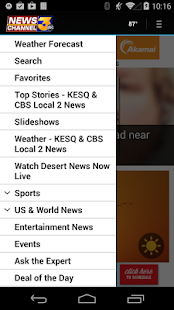 KESQ NewsChannel 3 - screenshot thumbnail