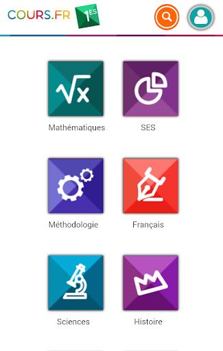 Cours.fr 1ES|玩教育App免費|玩APPs