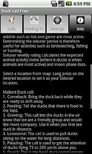 Duck Call Free- screenshot thumbnail
