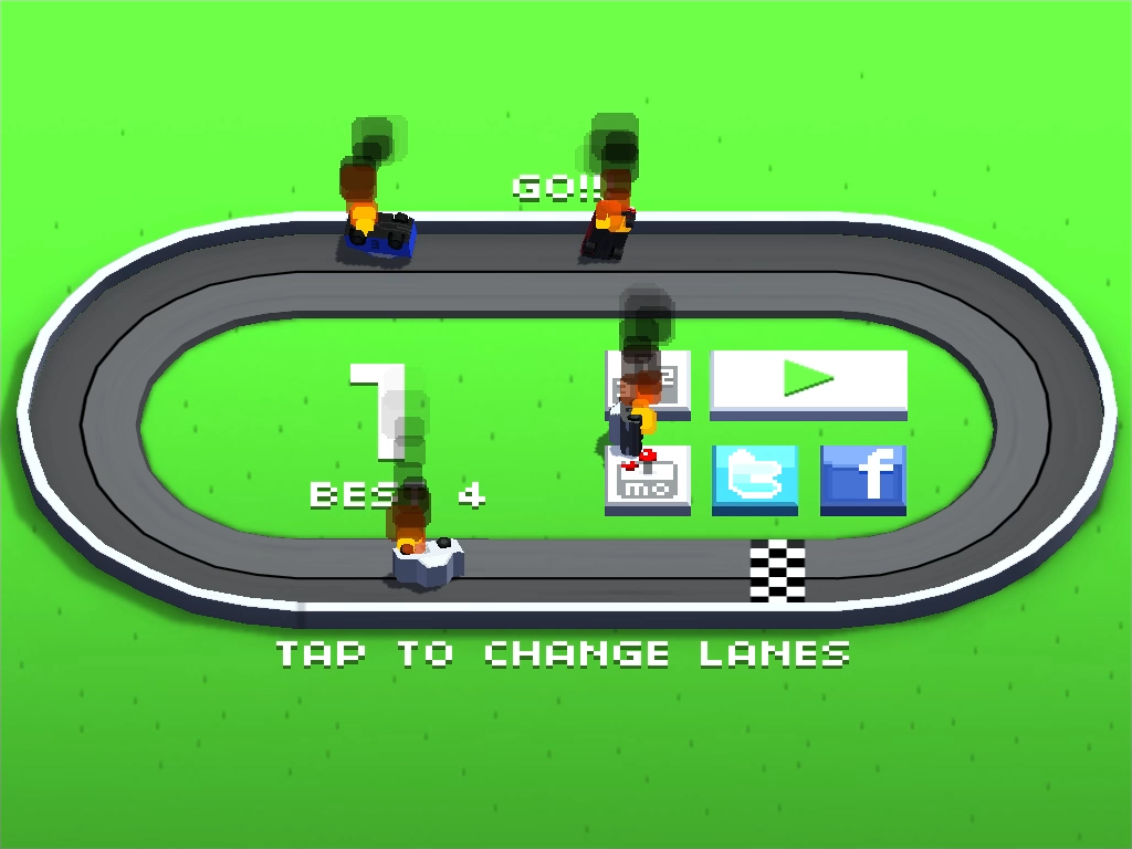 Wrong Way Racing- screenshot